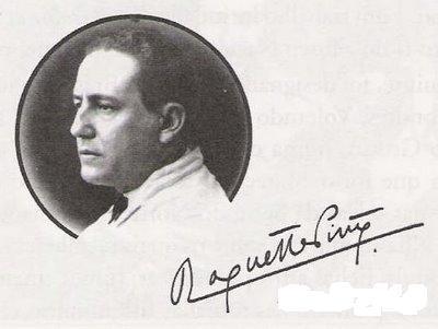 assinatura e roquete pinto