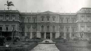 Museu nacional década de 1930. Fonte: SEMEAR/Museu Nacional