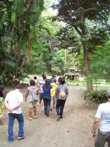 Educação Ambiental no Horto Botânico