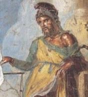 Representação do Deus Príapo