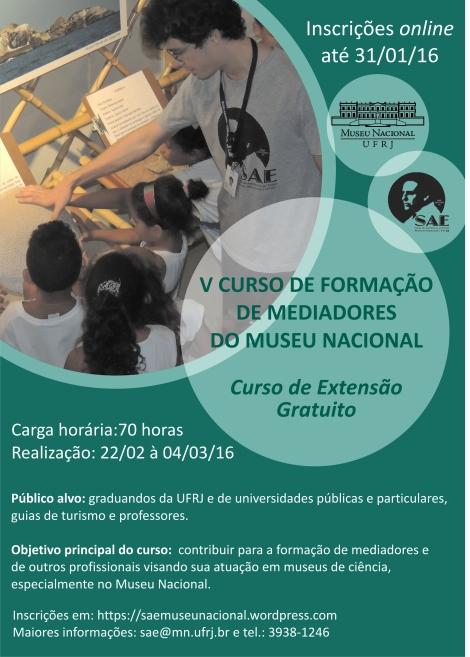 cartaz formação de mediadores 2016