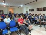 Auditório Roquette-Pinto cheio para ouvir sobre a cerveja artesanal