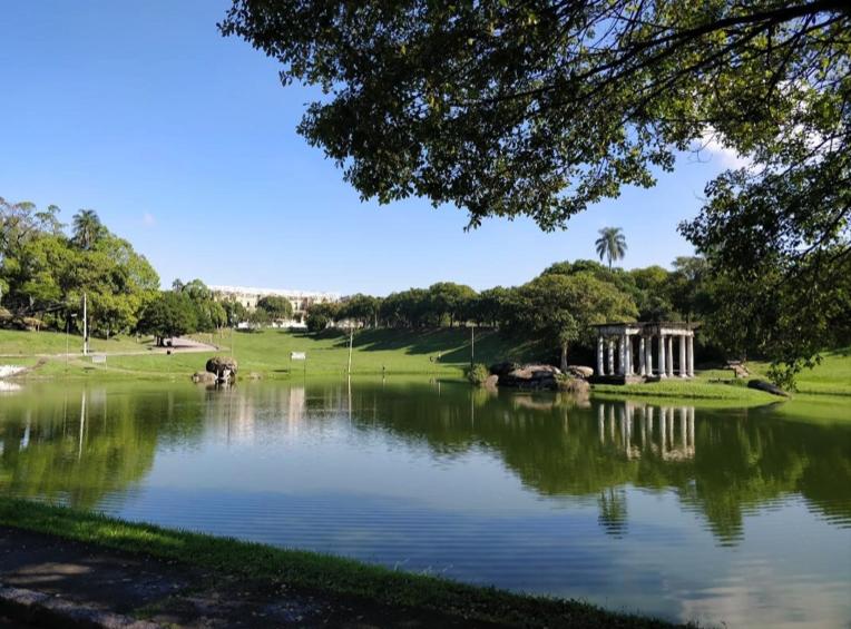 Fotografia do parque da Quinta da Boa vista – Foto: Igor Rodrigues